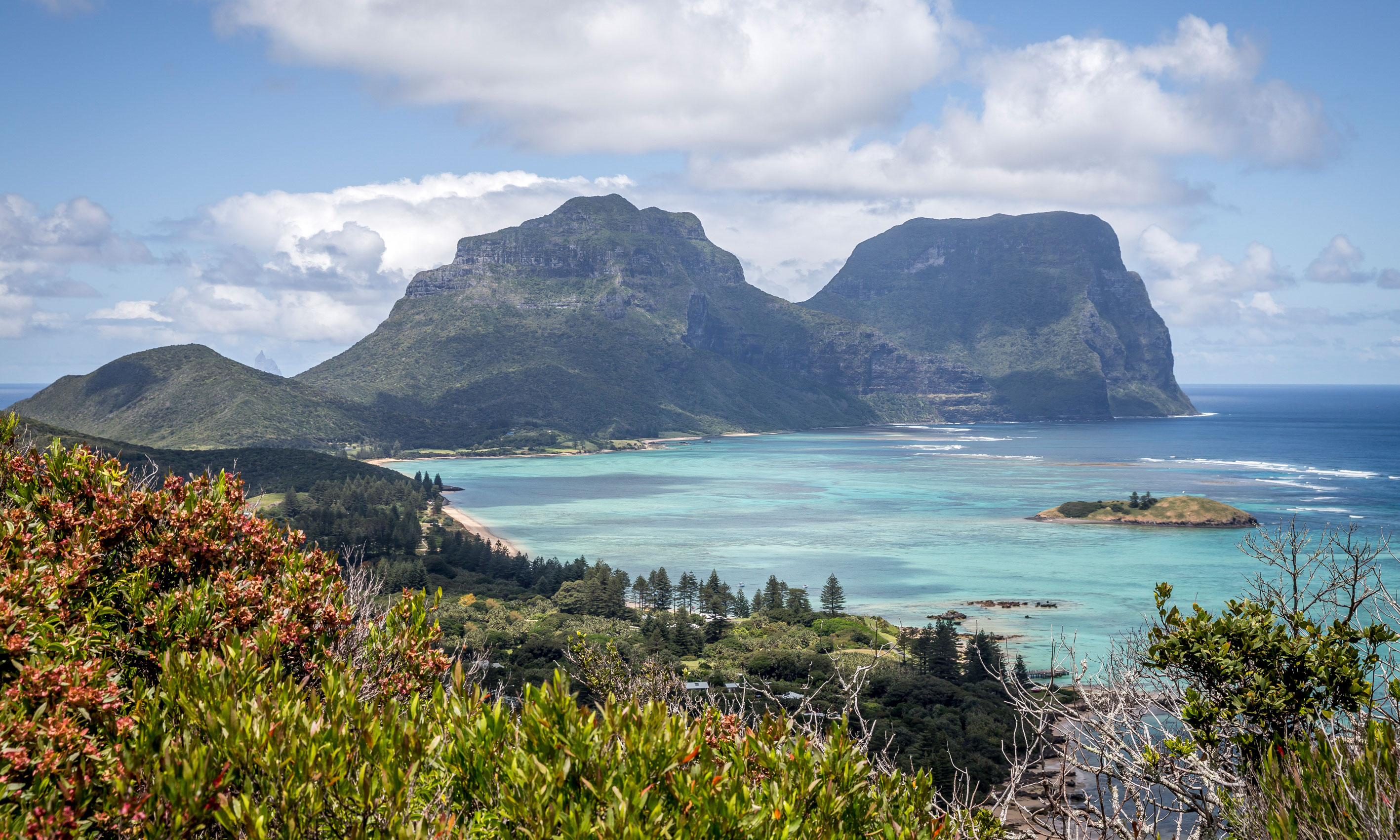 Lord Howe Island perfection from Kims Lookout